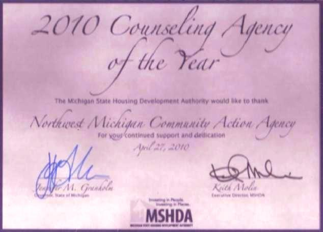 2010 Housing Counseling Agency of the Year