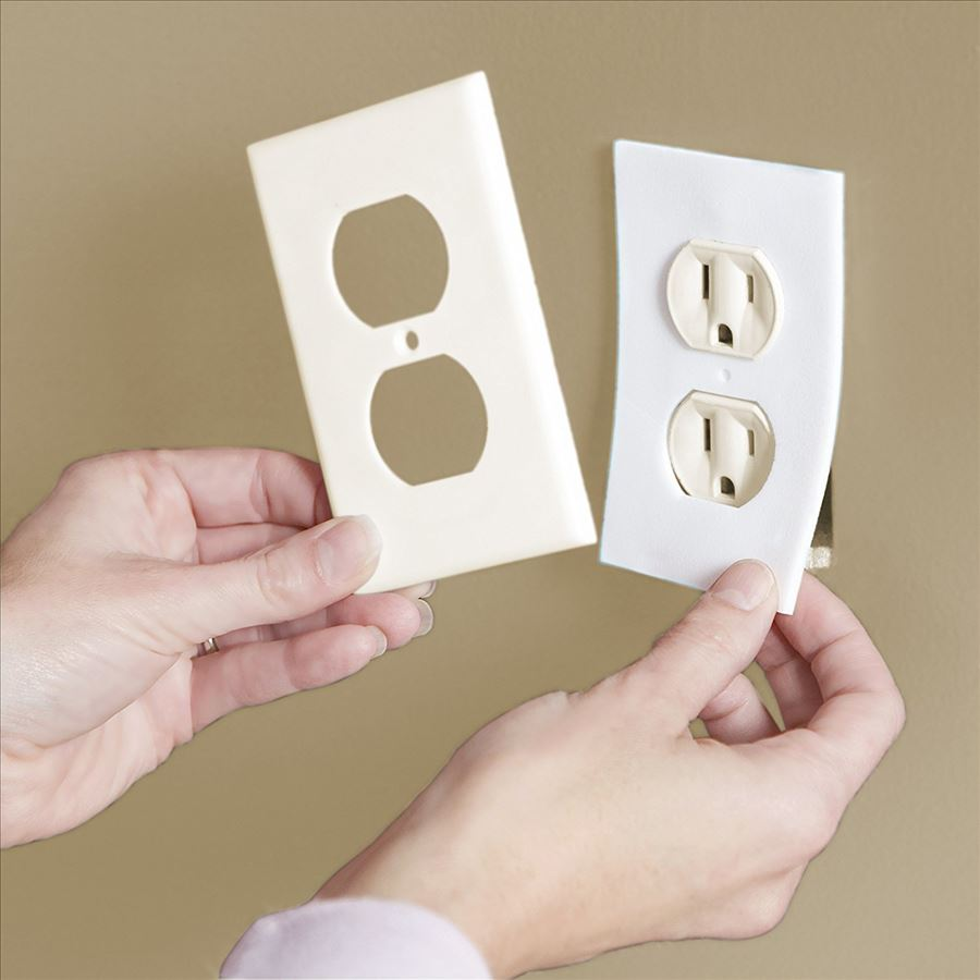 foam outlet cover